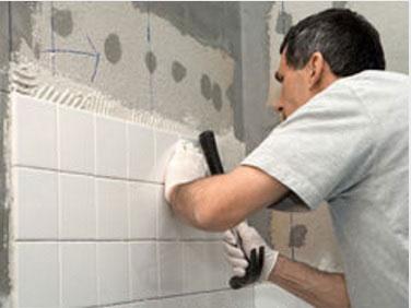 How to repair broken wall tiles