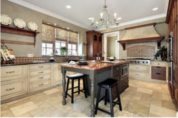 how to tile a kitchen